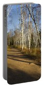 Fall Trail Scene 35 B Portable Battery Charger