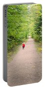 Fall Walk Portable Battery Charger