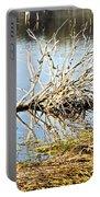 Fallen Tree Portable Battery Charger by Douglas Barnard