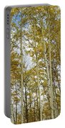 Falling For The Birch And Aspens Portable Battery Charger