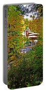 Falling Waters House Setting Portable Battery Charger