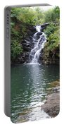 Falls Into The Pond Portable Battery Charger