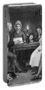 Family Reading, 1840 Portable Battery Charger