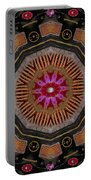 Fantasy Orchid Art Portable Battery Charger