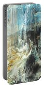 Fantasy Storm Portable Battery Charger by Linda Sannuti