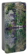 Farewell To Summer - Digital Painting Portable Battery Charger