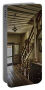 Farmhouse Entry Hall And Stairs Portable Battery Charger by Lynn Palmer