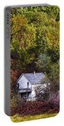 Farmhouse In Fall Portable Battery Charger