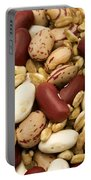 Farro And Beans Portable Battery Charger by Fabrizio Troiani