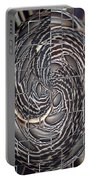 Feather Swirl Portable Battery Charger