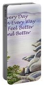 Feel Better Affirmation Portable Battery Charger