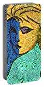 Feminine Kaleidoscope Portable Battery Charger