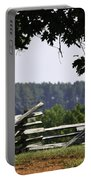 Fence At Appomattox Portable Battery Charger