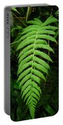 Fern Frond 0576 Portable Battery Charger