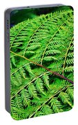 Fern Frond Portable Battery Charger
