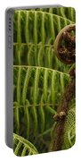 Fern Palm New Zealand Portable Battery Charger
