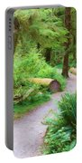 Ferns And Mosses Portable Battery Charger