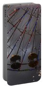 Ferris Wheel Reflection Portable Battery Charger