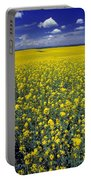 Field Of Canola Portable Battery Charger