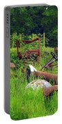 Field Of Dreams Portable Battery Charger