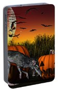 Field Of Nightmares Portable Battery Charger