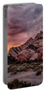Fiery Mormon Rock Portable Battery Charger