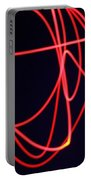 Fiery Red Light Strings Portable Battery Charger