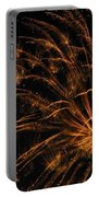 Fiery Portable Battery Charger by Rhonda Barrett