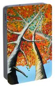 Fiery Trees Portable Battery Charger