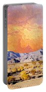 Fiery Western Sky Antarres Road Az Portable Battery Charger