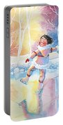 Figure Skater 13 Portable Battery Charger