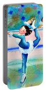 Figure Skater 19 Portable Battery Charger