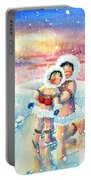 Figure Skater 7 Portable Battery Charger