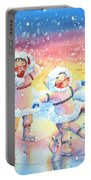 Figure Skater 9 Portable Battery Charger