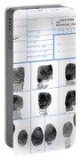 Fingerprint Identification Application Portable Battery Charger