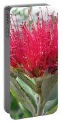 Fiore Rosso E Grasso Portable Battery Charger