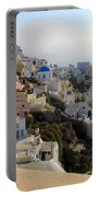 Fira In Santorini Portable Battery Charger