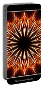 Fire Kaleidoscope Effect Portable Battery Charger