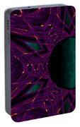 Fire Star - Purple Portable Battery Charger