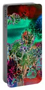 Fire Storm Abstract Portable Battery Charger