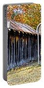Fireman Cottage Portable Battery Charger by Douglas Barnard