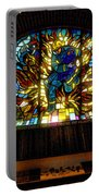 Fireman's Hall Stained Glass Portable Battery Charger