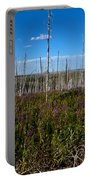 Fireweed  Epilobium Angustifolium Glacier National Park Usa -2 Portable Battery Charger