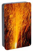 Fireworks Fountain Portable Battery Charger