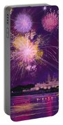 Fireworks In Malta Portable Battery Charger
