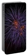Fireworks Portable Battery Charger by Joana Kruse