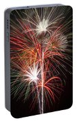 Fireworks Light Up The Night Portable Battery Charger