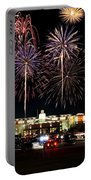 Fireworks Over Firelake Portable Battery Charger