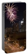 Fireworks Over The City Portable Battery Charger