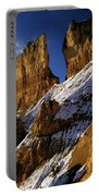 First Snow At Bryce Canyon Portable Battery Charger